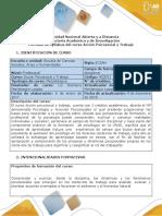 Syllabus Del Curso Acción Psicosocial y Trabajo