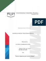 Proyecto de Intervencion. Final Relaciones Publicas