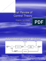 Brief Review of Control Theory
