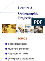 Lecture 2 Orthographic Projection