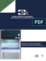 Manual Tecno Lab CFH