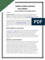 impacto ambiental parques nacionales (caso tariquia)