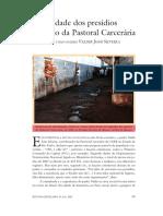 Dossiê Criminalidade - A Realidade Dos Presídios Na Visão Da Pastoral Carcerária