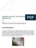 Megastructure Art- The Home of Civil Engineering_ What Are the Defects of Building Bricks