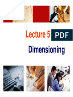 Lecture 6 Dimensioning