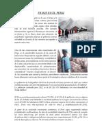 El friaje en el Peru