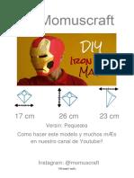 Máscara de Iron Man (Para Niño)