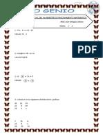 Examenes de Matematicas