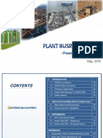 POSCO in Power Plant Bussiness