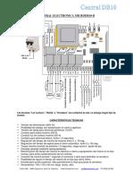 central para portones electricos DB10