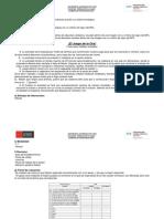 Analogías Mayte Registro de Planificación de La Sesión