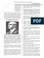 Primavera Democrática - historia del Perú