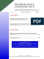 Desnutrición en la hemodialisis