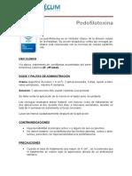 Podofilotoxina