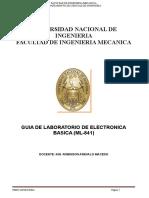 Guia de Laboratorio de Electronica (Ml-841a)