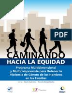 Programa Caminando Hacia La Equidad. Man