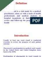 Ward Round Participation