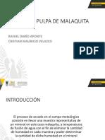 Informe Secado Malaquita Jjls (1)