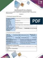 Guía de Actividades y Rubrica de Evaluación - Paso 2 - Diseñar Blog Personal