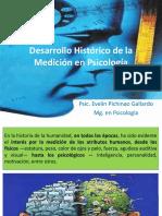Desarrollo Histórico de La Medición en Psicología