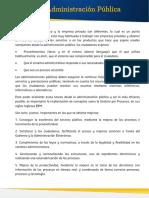 Proceso Administración Pública
