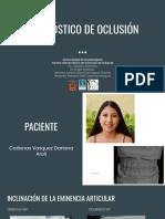 Diagnóstico de Oclusión