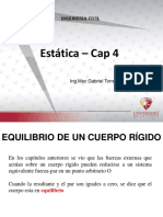 CAP 4 Estatica