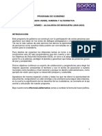 Programa de Gobierno Ivonnet Tapia Gómez Mosquera 2020-2023