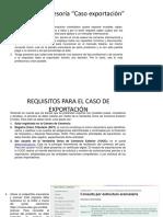 Evidencia 15 1 Asesoria Caso Exportacion