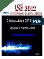 Introduccion Dsp Lucio Martinez