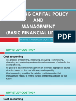 1 - Working Capital Policies REVISED