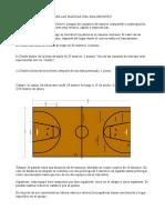 Reglas basicas baloncesto