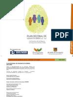 Plan Decenal de Equidad de Genero