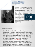 Module 5 freud Psychosexual Stages