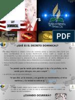 Ley Dominical- AnthonyRafael