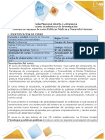 Syllabus del curso  Políticas Públicas y Desarrollo Humano (1)