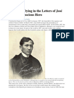 Death and Dying in the Letters of José Rizal