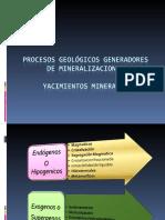 Procesos geológicos  mineralizaciones3.ppt.pps