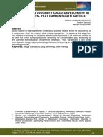 Slag Skimming Judgment Gauge Deelopment at Arcelormittal Flat Carbon South America