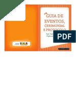 Guia Eventos Cerimonial Protocolo