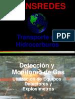 Utilizacion de Detectores de Gas
