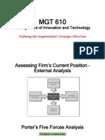 MGT 610_Organization Strategy