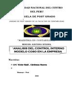 ANALISIS DEL AMBIENTE DE CONTROL INTERNO EMPRESA OSPINA SAC.docx