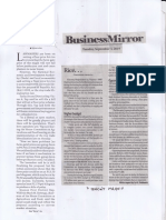 Business Mirror, Sept. 3, 2019, Solons eye floor price for rice.pdf