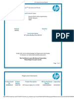 HP Channel Services Network Service Certificate