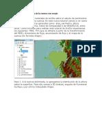 Parámetros Generales de La Cuenca Con Arcgis