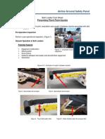 Belt Loader Pinch Point Caught InbetweenAGSP 5-20-16 Kusno Wewe