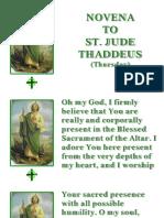 Novena to St Jude