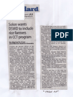 Manila Standard, Sept. 3, 2019, Solon wants DSWD to include rice farmers in CCT program.pdf