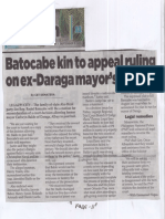 Philippine Star, Sept. 3, 2019, Batocabe kin to appeal ruling on ex-Daraga mayor's release.pdf
